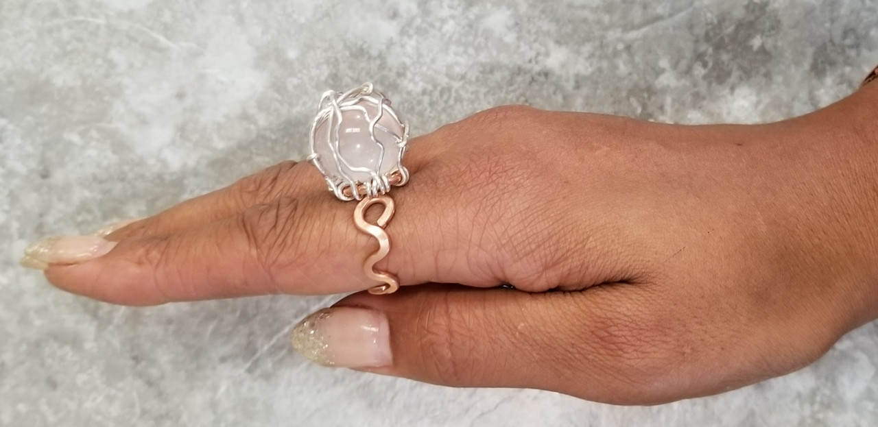 Rose Orb Ring