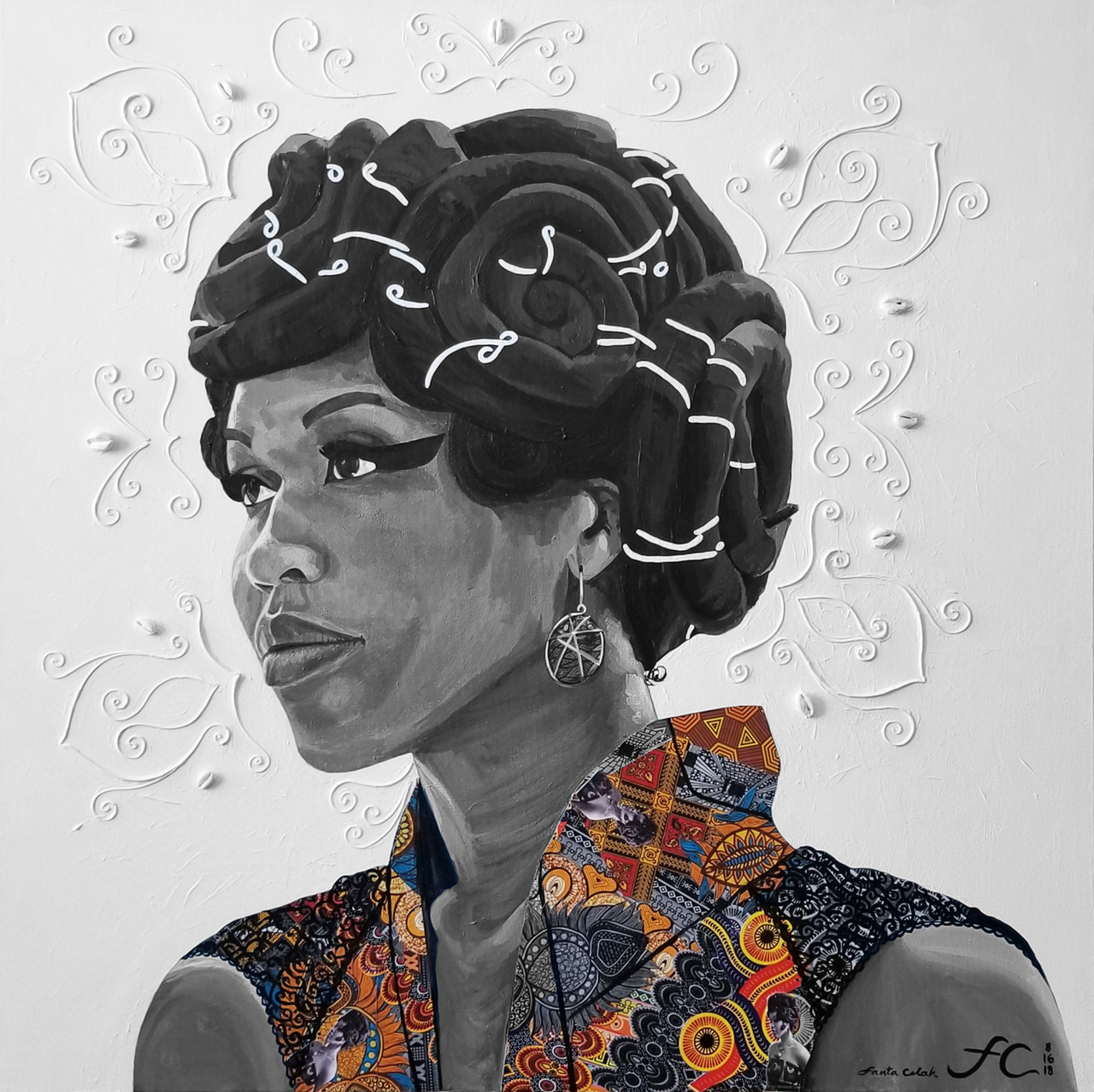 Emperial Sankofa: Self Portrait