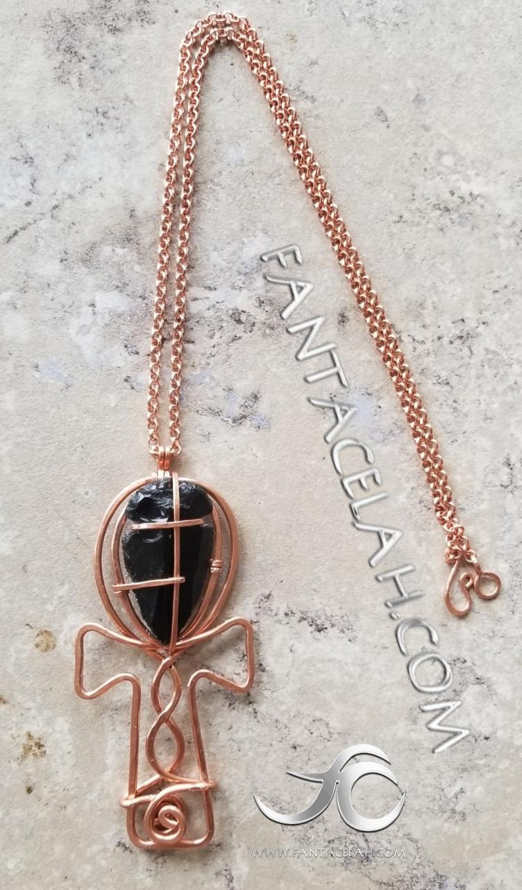 Royal Ankh Necklace
