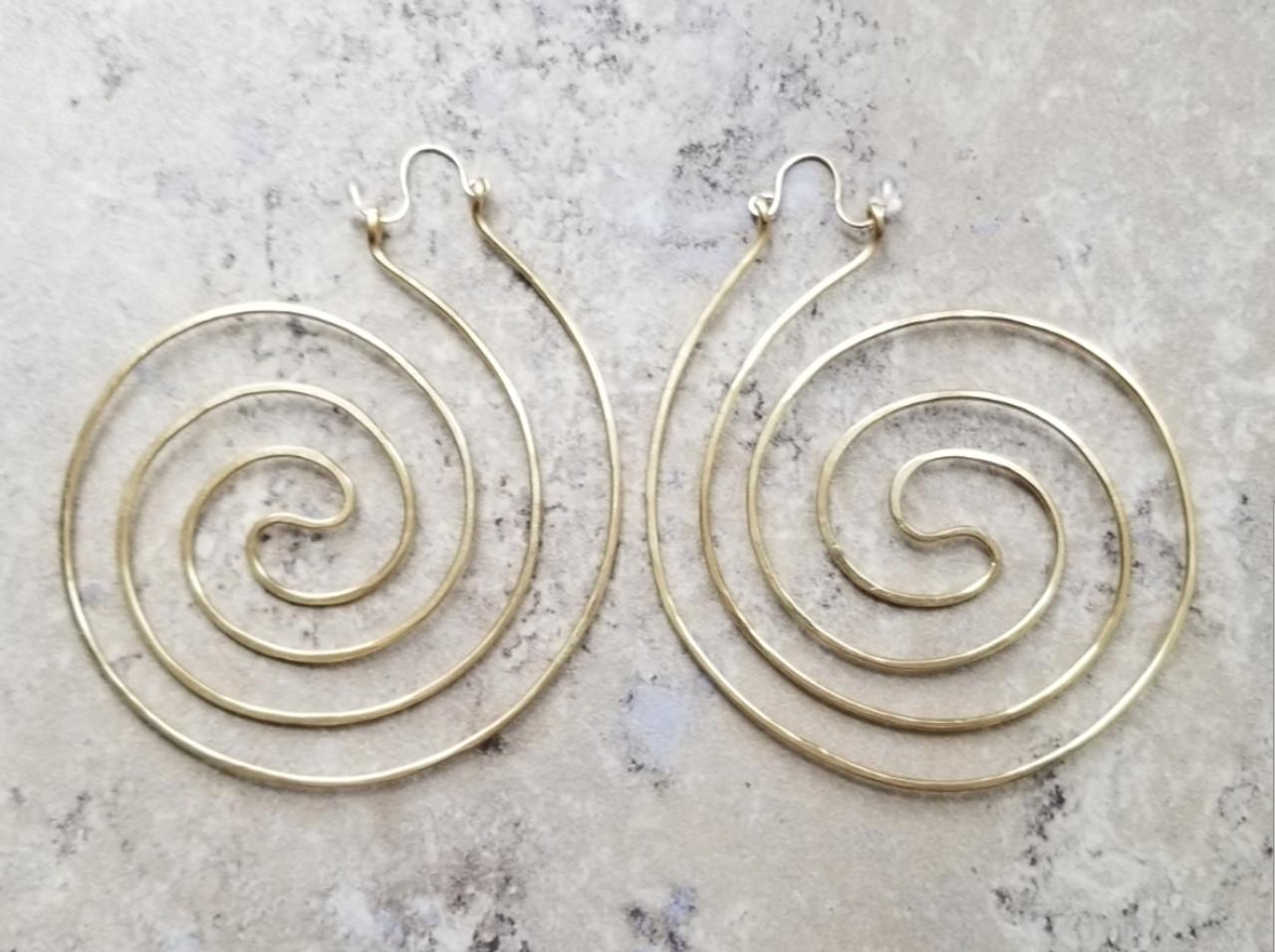 Cosmic Spiral Hoops