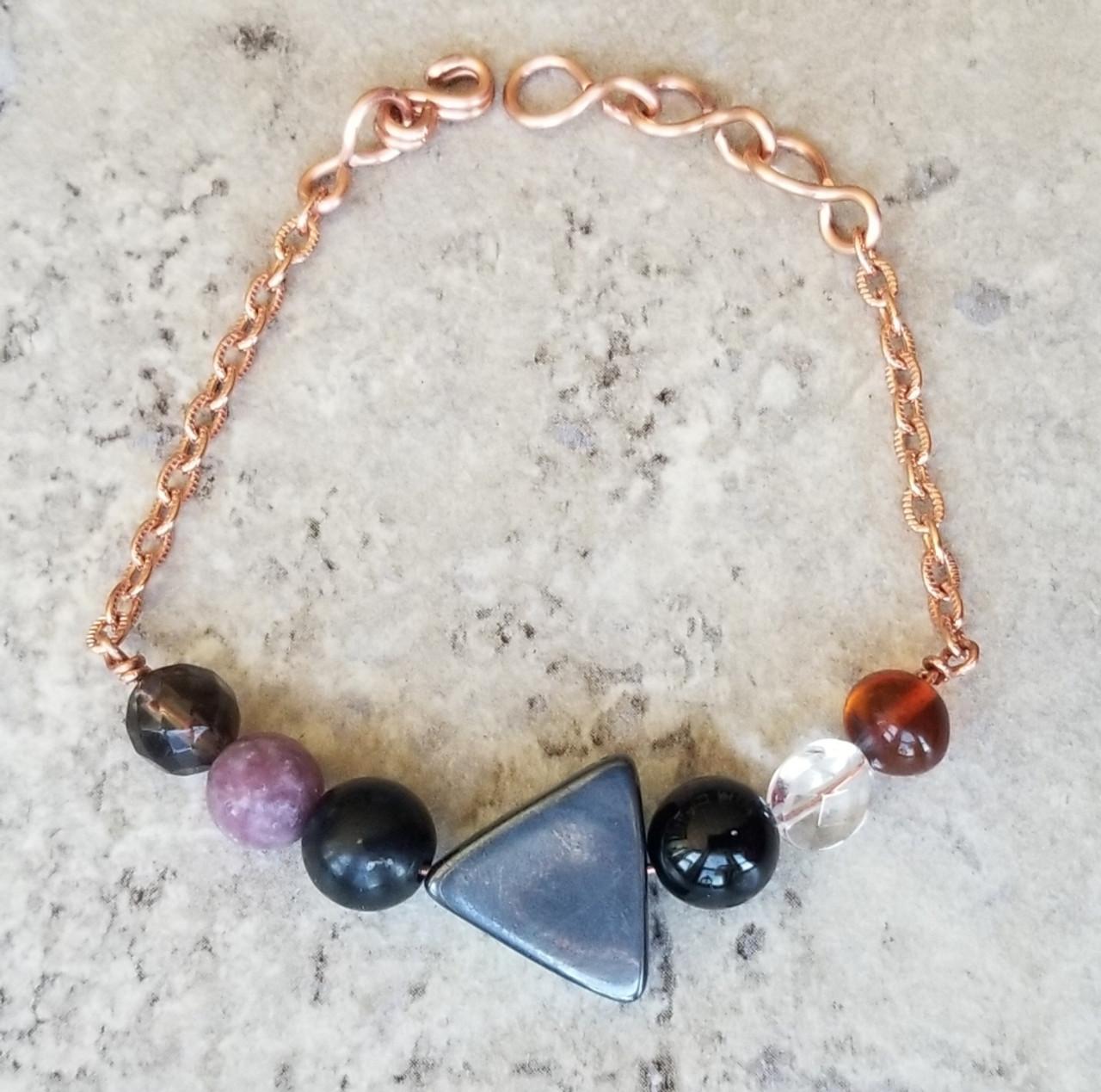 Crystal EMF Protection Bracelet : Style 1