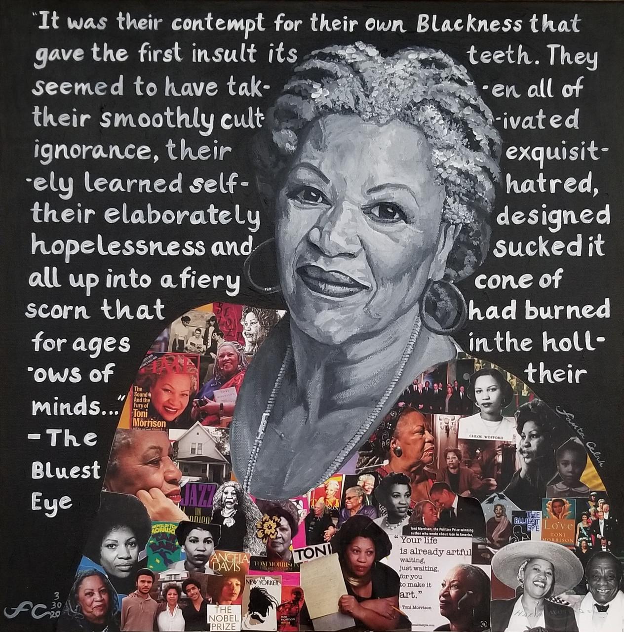 18 x 18 Giclee , Toni Morrison: The Bluest Eye