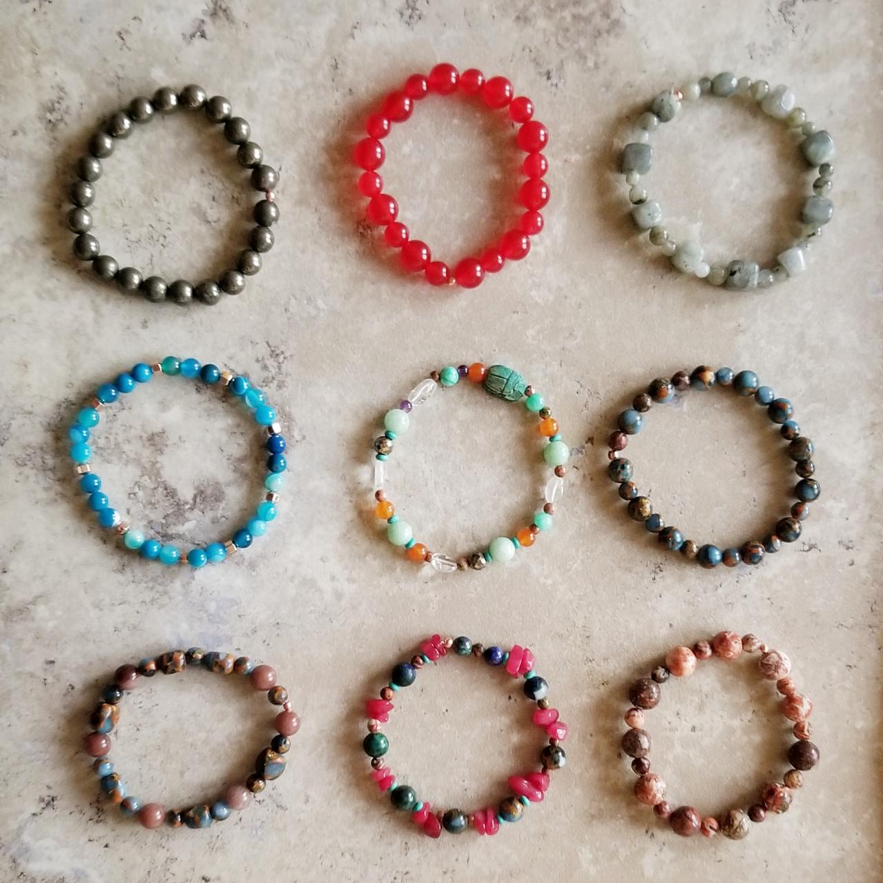Pyrite Yoga Bracelet: Raw