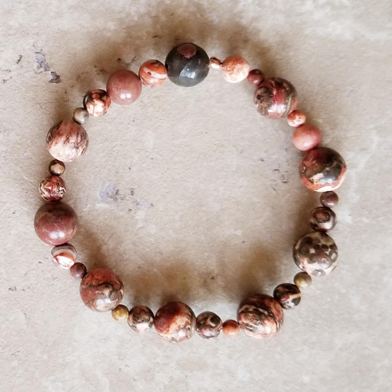 Ocean Jasper Yoga Bracelet