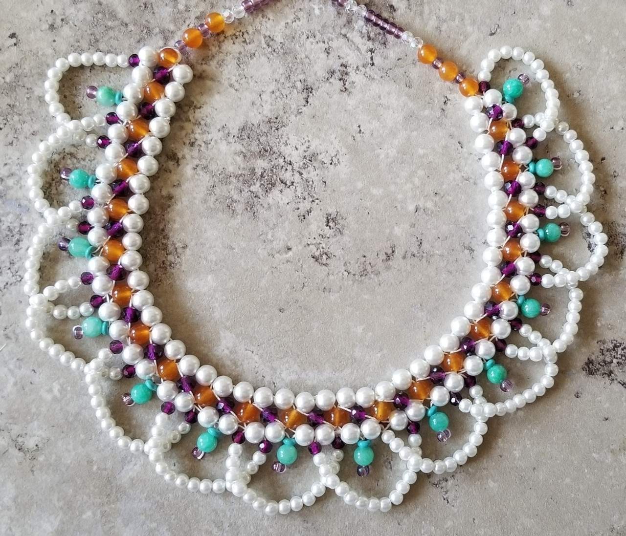 Bejeweled Crystal Collar