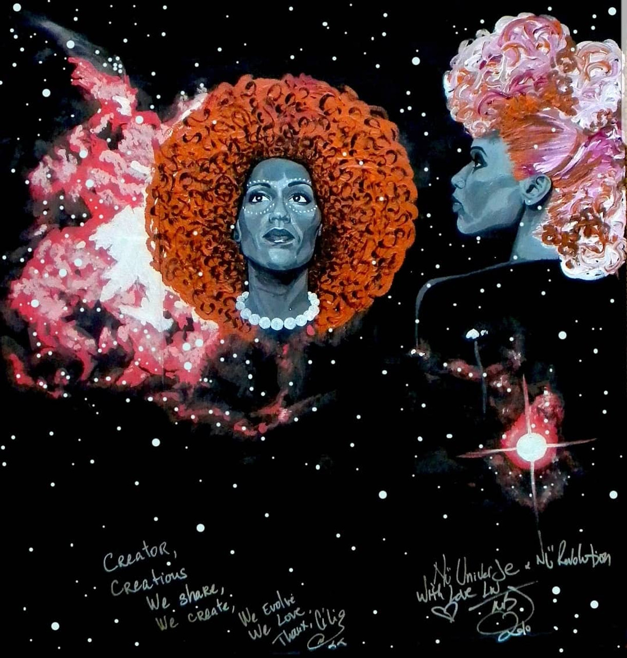 Queens of the Cosmos: Les Nubians 12x12