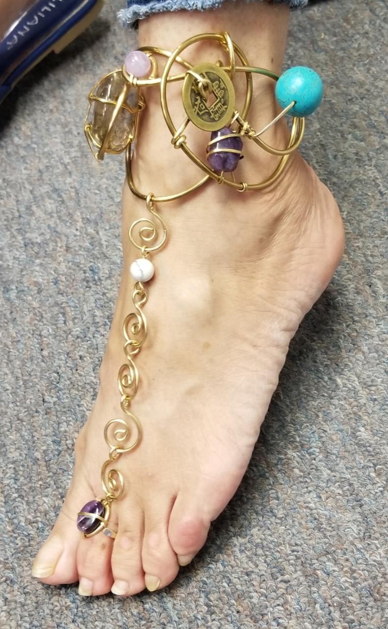Celestial Goddess Anklet