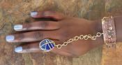 Lapis Goddess Bracelet