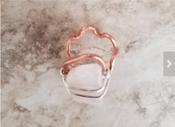 Rose Quartz Rectangular Ring