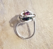 Rainbow Quartz Galaxy Ring sm