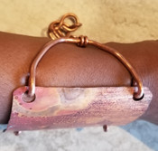 Copper Patina Cuff Lrg