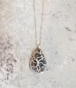 Herkimer Diamond Druzy Necklace