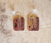 Bronze Patina Earrings- Small