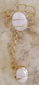 Rose Quartz Goddess Bracelet