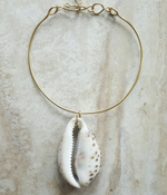 Leopard Cowrie Shell Necklace