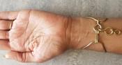 Smokey Quartz Golden Goddess Bracelet