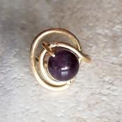 Crystal Galaxy Ring