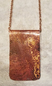 Copper Patina Pendant