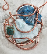 Kemetic Copper Galaxy Necklace