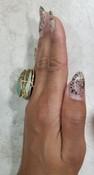 Bronze Scarab Ring