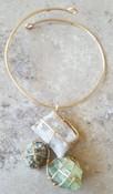 Crystal Art Deco Necklace I