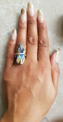 Rainbow Quartz Ring