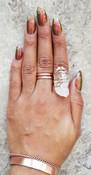 Pristine Quartz Ring