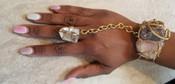 Crystal Galaxy Goddess Bracelet