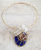 Lavish Lapis Galaxy Necklace
