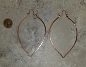 Leaf hoops Medium
