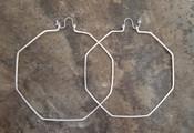Octagonal Hoops: XL