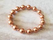 Copper Beaded Bracelet 1