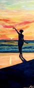 "Freedom Giclee 6"" x 18"""