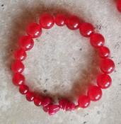 Red Quartz Yoga Bracelet
