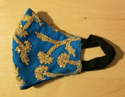Indian Embroidered Mask