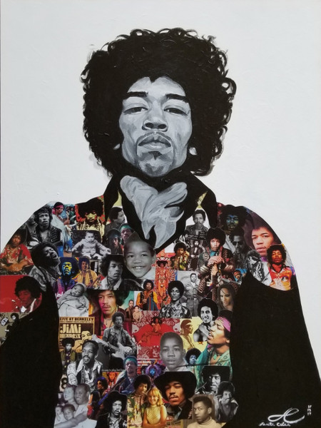12 x 18 Jimi Hendrix: The Ultimate Experience