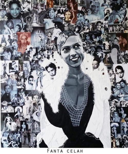 12 x 14 Josephine Baker: The Original Super Star