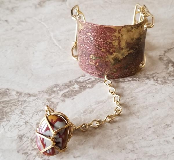 Noreena Jasper Goddess Bracelet