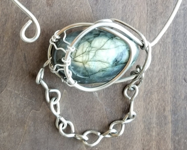 Labradorite Cosmic Necklace