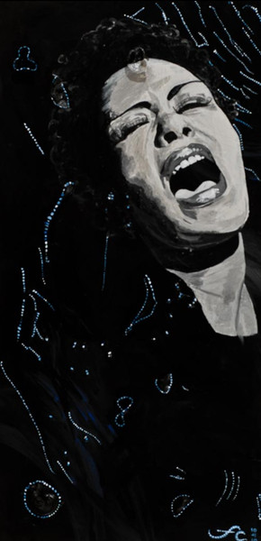 "Billie Holiday :Ether 12"" x 16"" Giclee"