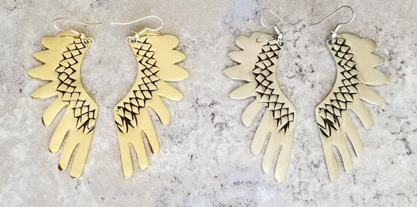 Wings of MA'AT Earrings