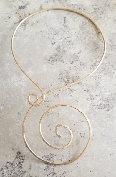 Cosmic Spiral Necklace
