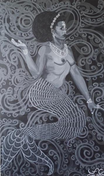 Primordial Beings I: Yemoja 12x18 print