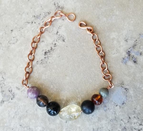 Crystal EMF Protection Bracelet : Style 3