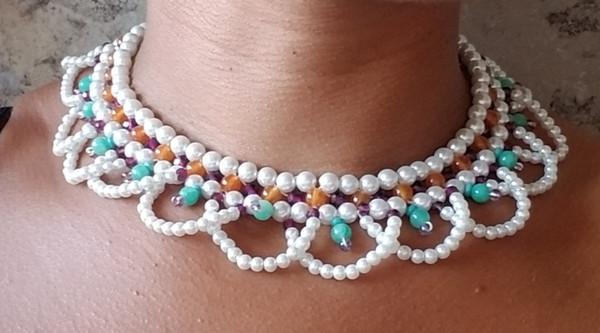 Bejeweled Crystal Collar