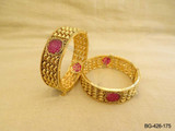 RANI  ROUND ANTIQUE BANGLES