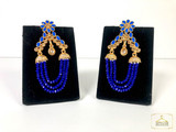 Glass Stone Antique Earrings