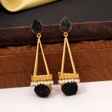 Druzy Stone Amrapali Earrings
