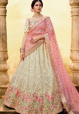 Heavy Wedding Wear Designer Lehenga