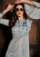 Stylish Banarasi Silk Kurti